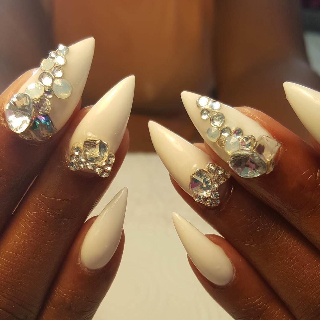 Fake Finger Nail Designs