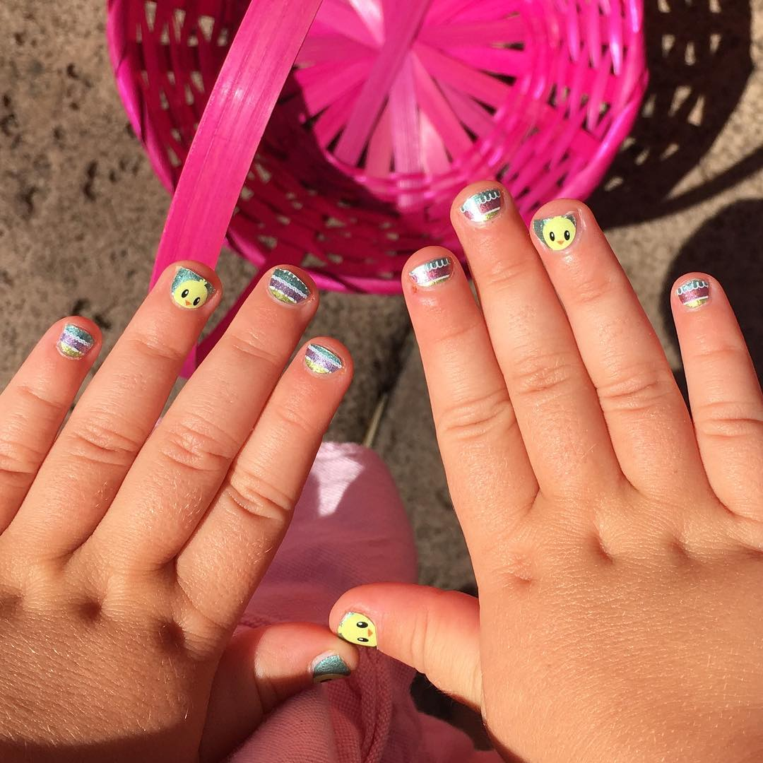 24+ Kids Nail Art Designs , Ideas