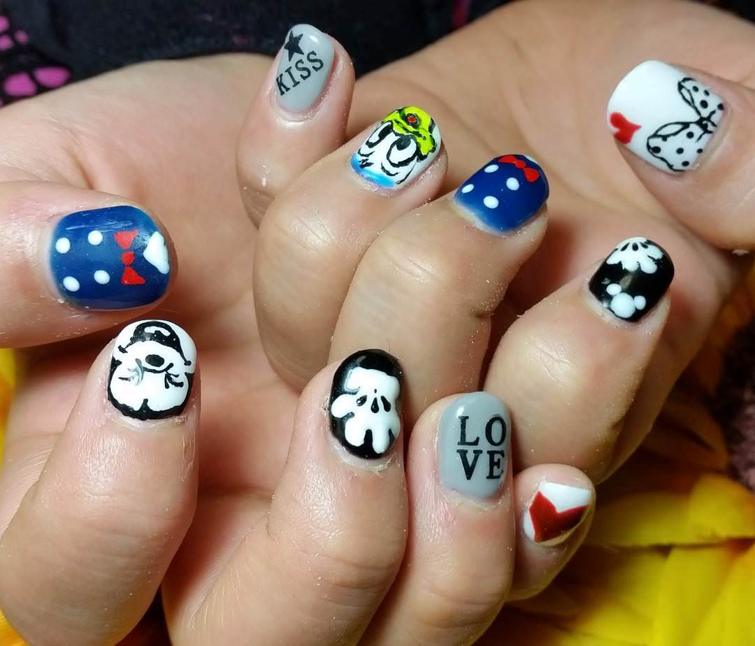 Specially Designed Kids Nail Art