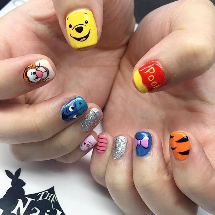 Disney Nail Art: 24+ Kids Nail Art Designs , Ideas