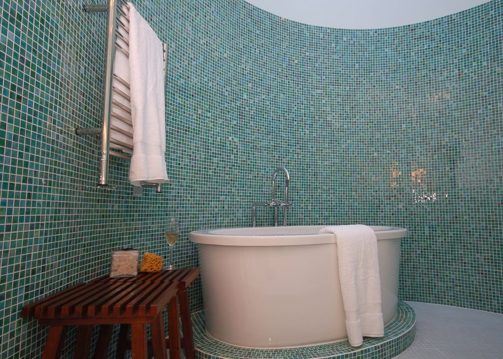 24 Mosaic Bathroom Ideas Designs