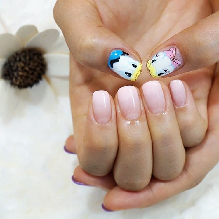 Lovely And Cute Nail Design