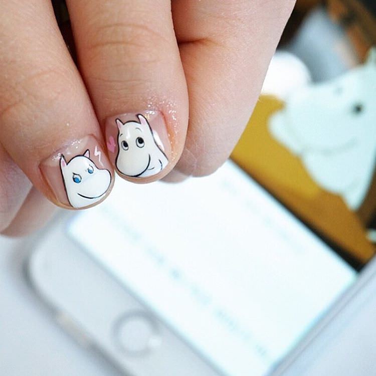 Creative Nail Design For Kids