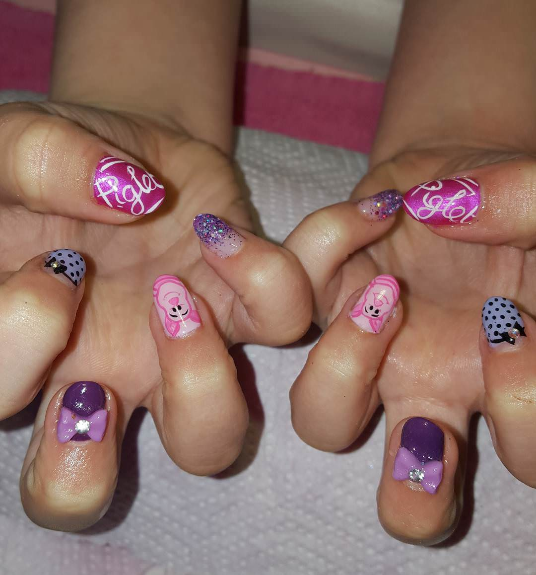 Kids Nail Art Pattern