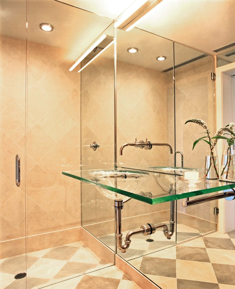 Bathroom Glass Sliding Door Designs