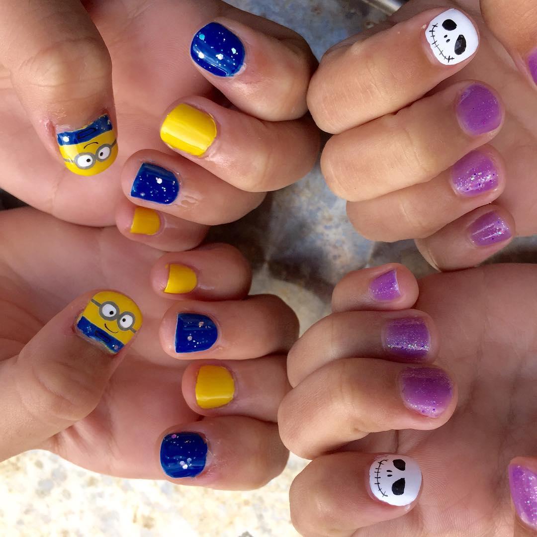 Summer Kids Nail Art