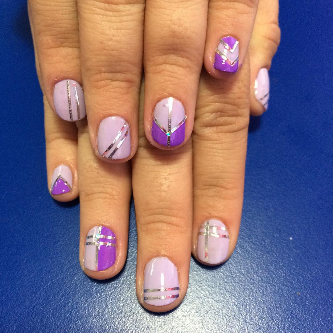easy nail design for short nail