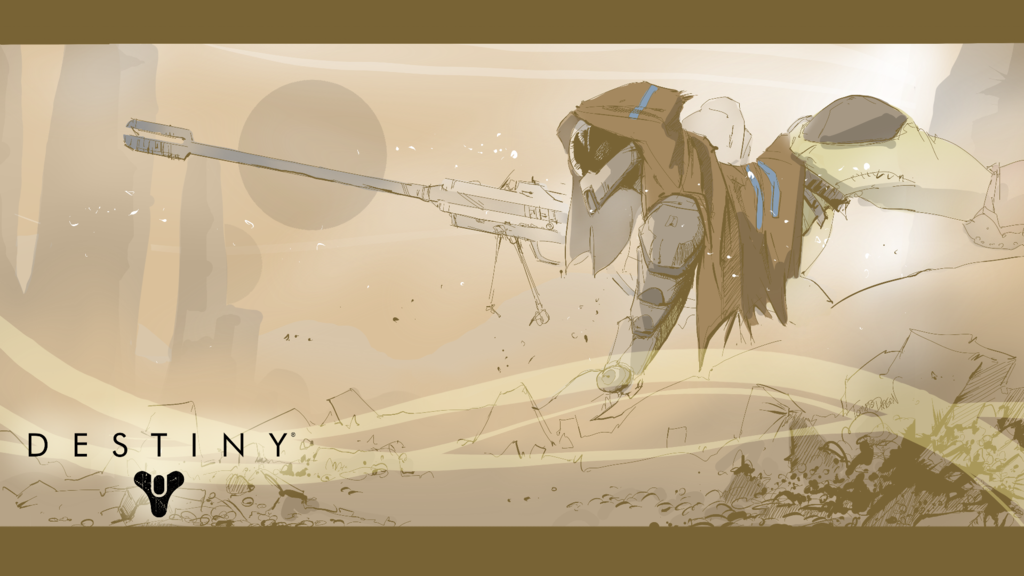 destiny hunter wallpaper