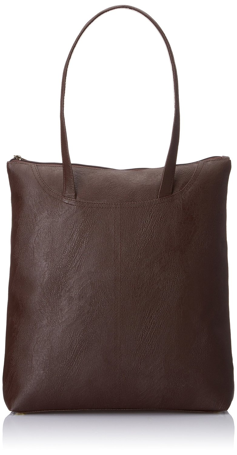 Alessia74 Women's Handbag Dark Brown