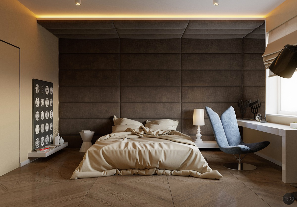 classy wall interior design ideas - Wall Decoration Bedroom