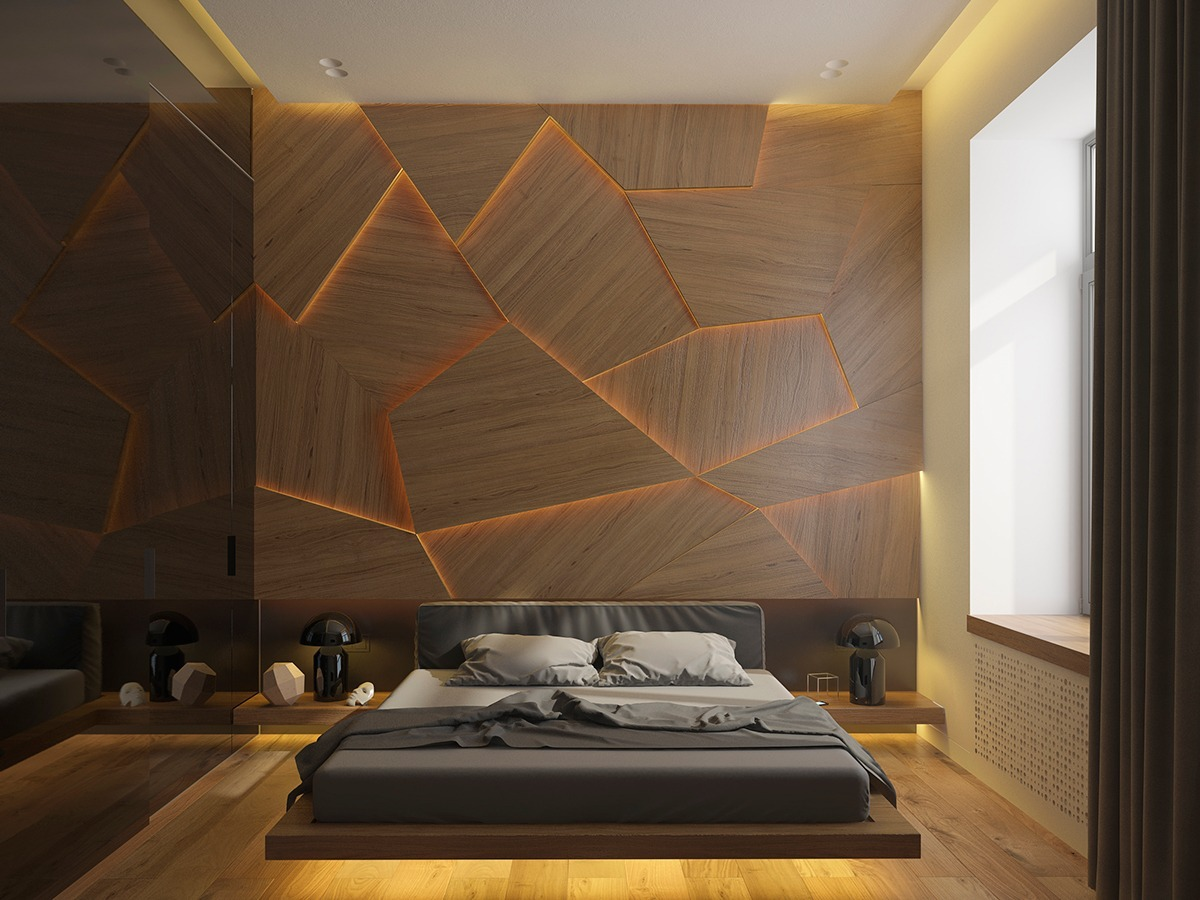 Wall Paneling Design bedroom wall panel minimalist modern wall paneling Wood Interior Wall Paneling System Designs