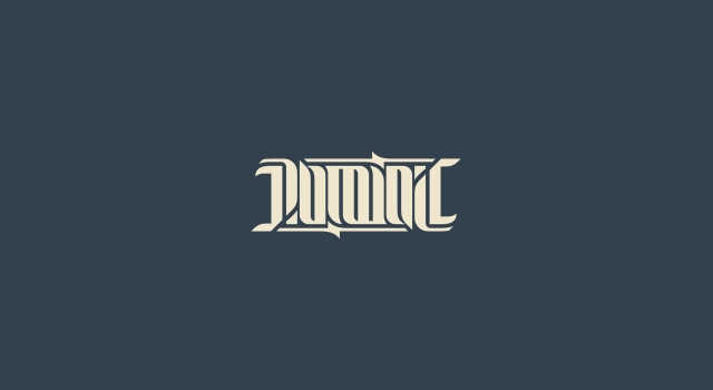 ambigram logo for music rock bands