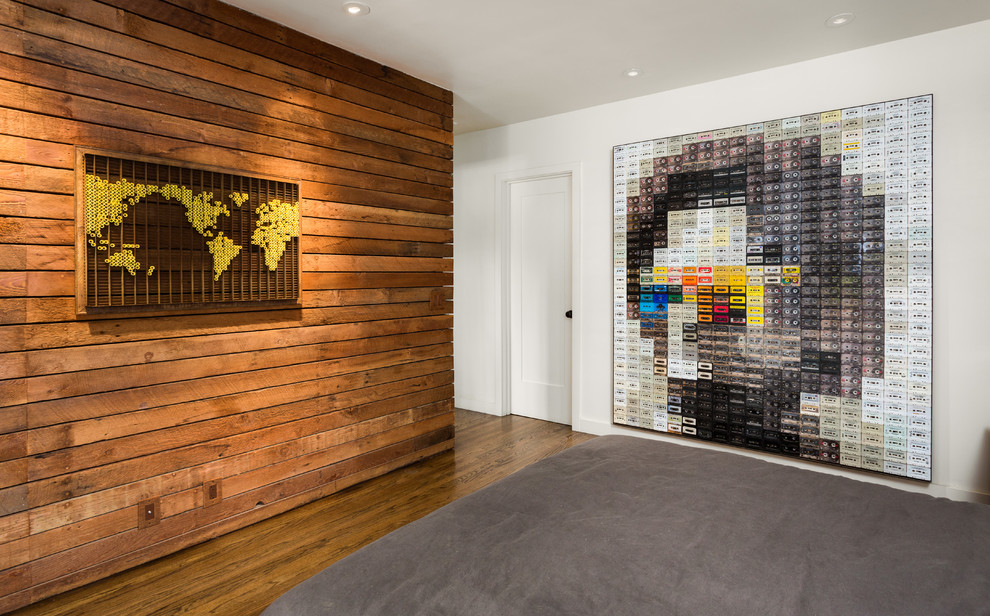 Awesome Wooden Wall Paneling Designs