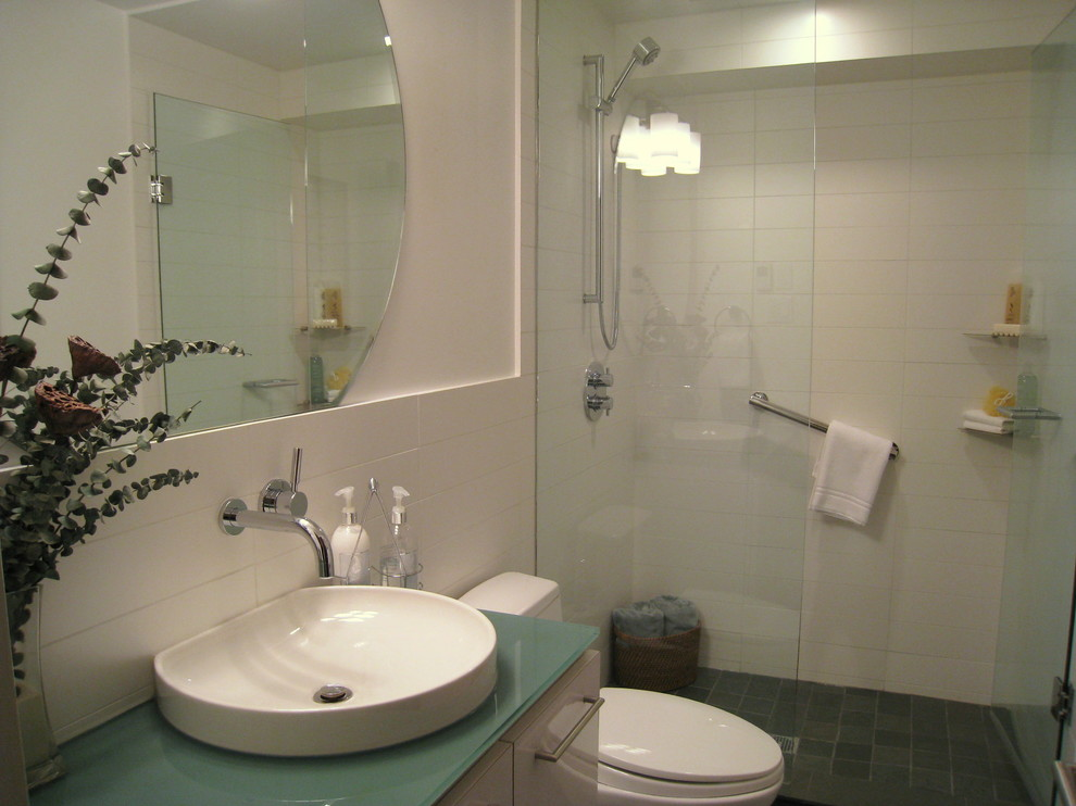 Bathroom Shower Glass Panel Ideas