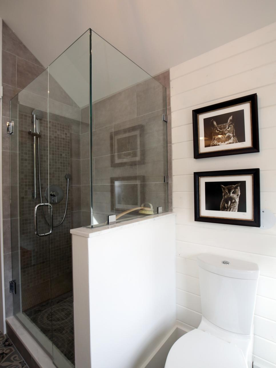 Small Glass Shower Enclosure Kit Ideas