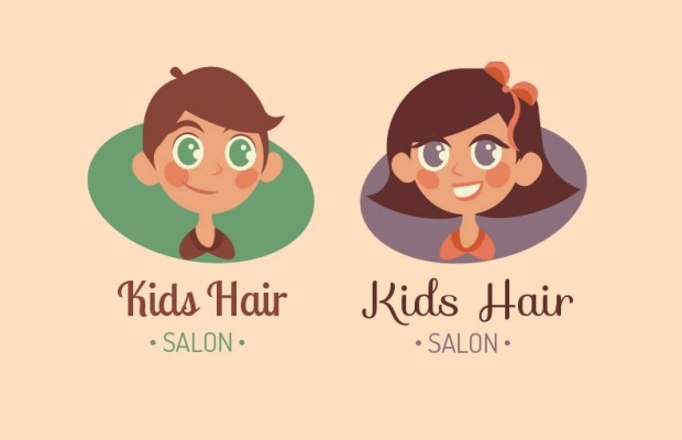 Women Hair Logo Design