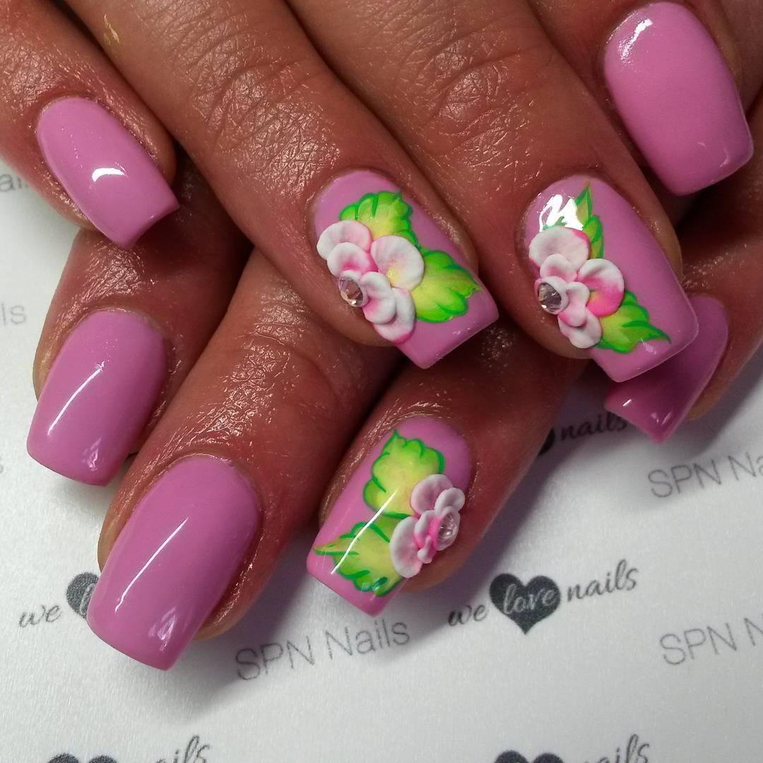 Wonderful Nail Art Design For Beautiful Nails