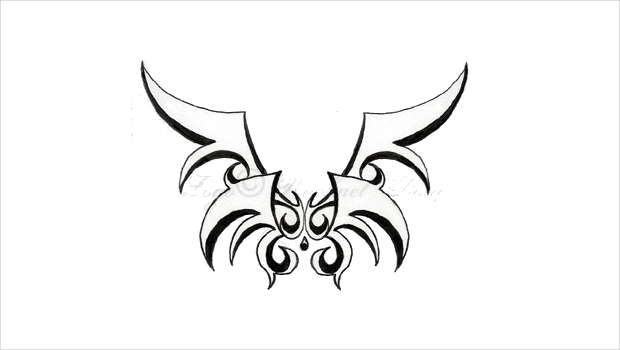 Angel Wings Logo for Tattoo