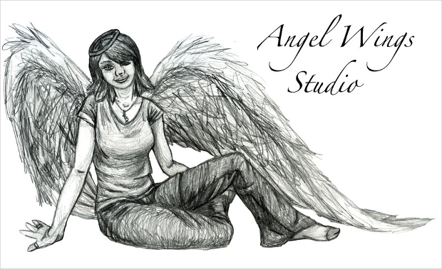 Angel Wings Studio Logo