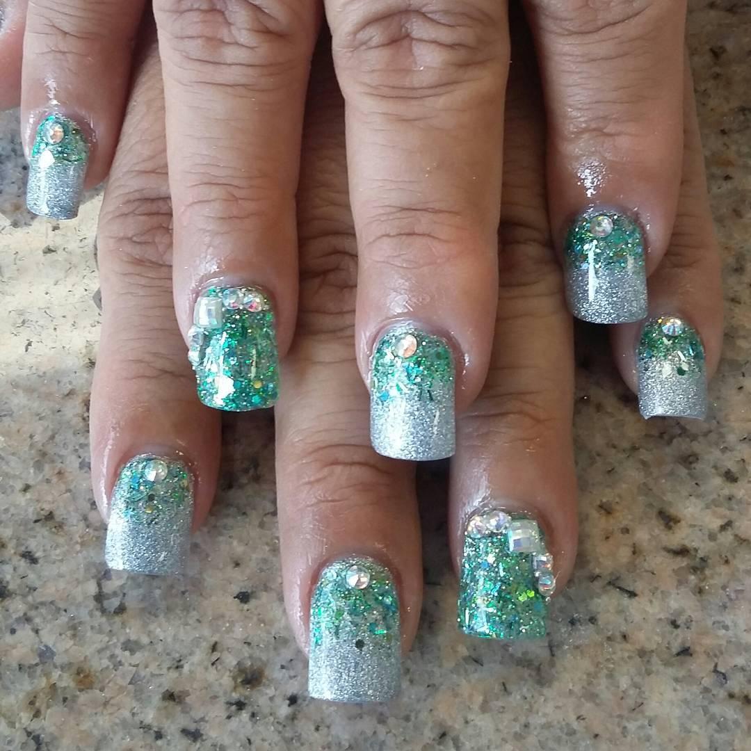 small artificial nail designs