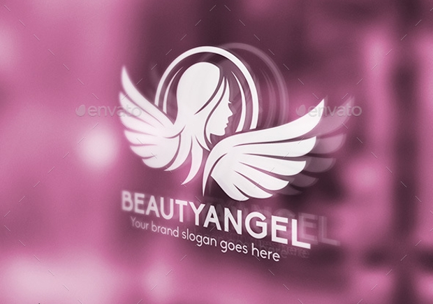 Angel Wings Logo Design for Fashion