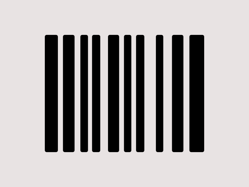 Product Barcode Icon