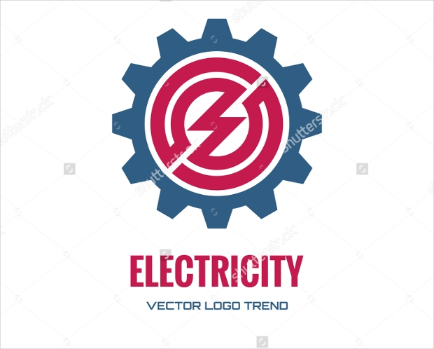 Electrical Vector Logo for Factories