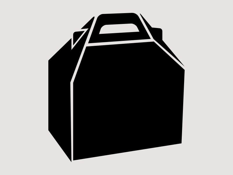 Box of Food Icon