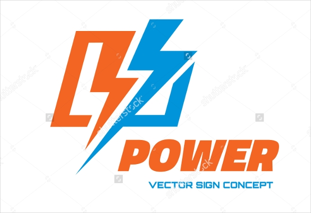 Power Electricity Logo Design