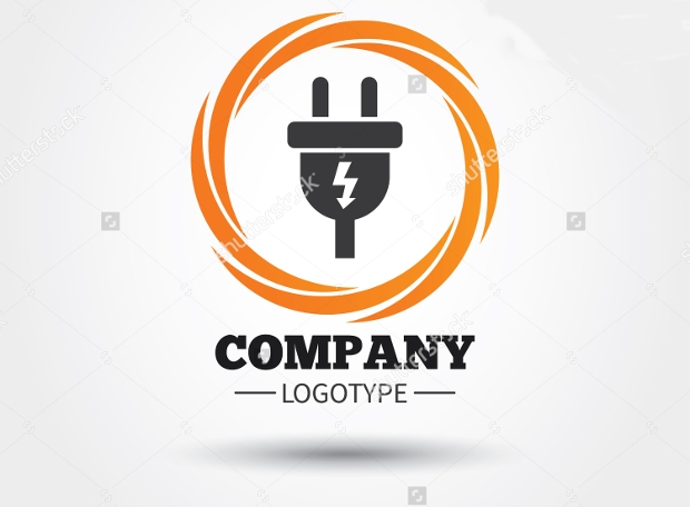 Electric Plug Logo Design