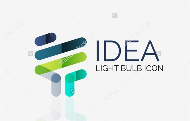Abstract Bulb Logo Style