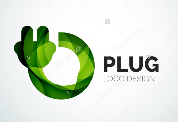 Abstract Company Electric Logo Design