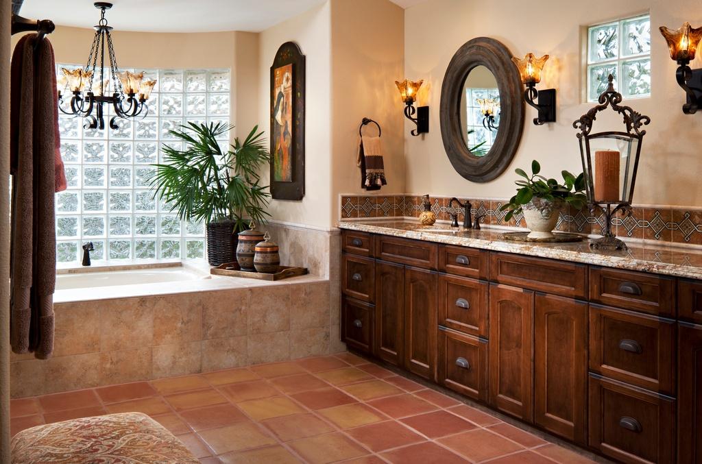 Hardwood Vanitytop Cabinets Designs