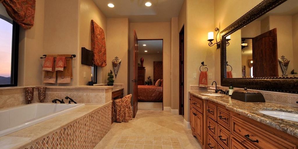 Master Bathroom With Undermount Sink Plans