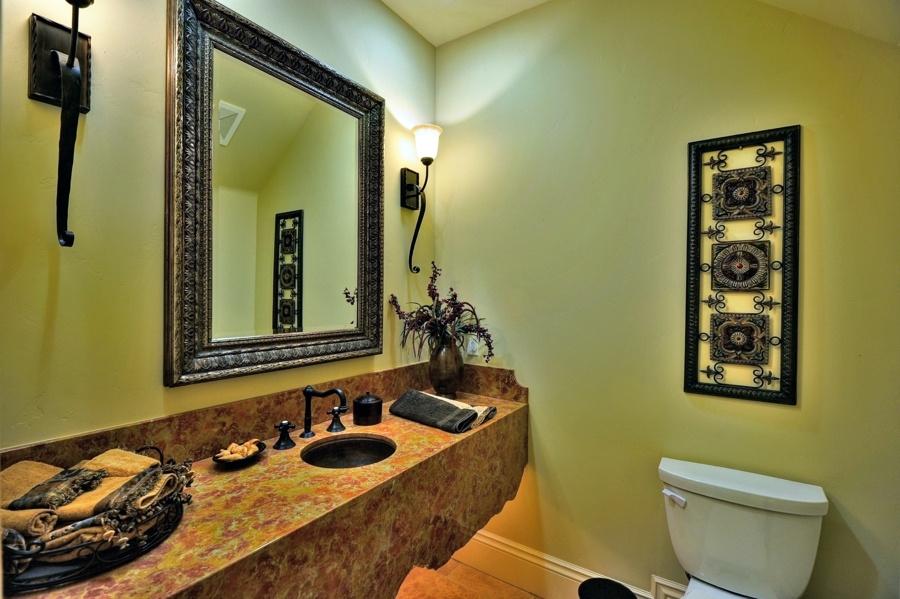 Classy Mediterranean themed Sink Vanity Model