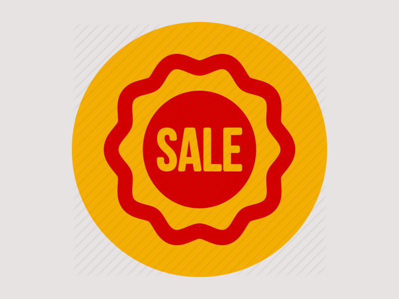 product sale icon