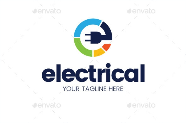 Colorful Electric Logo
