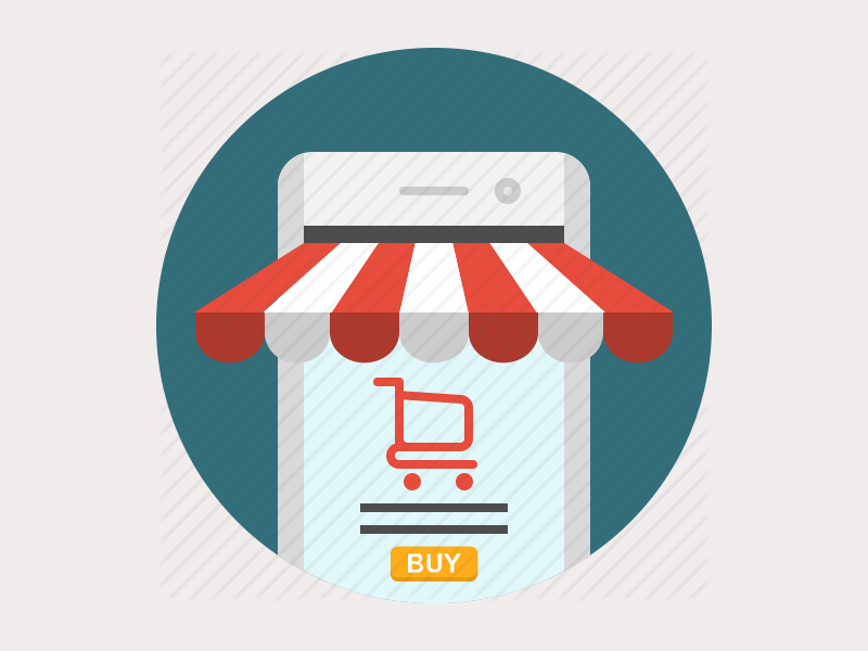 e commerce app icon