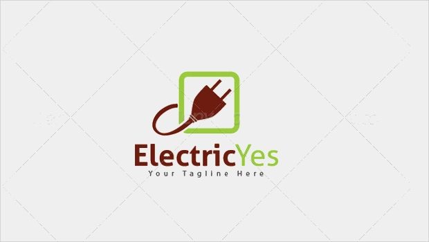 Electric Current Logo Design