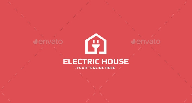House Designed Electrical Logo