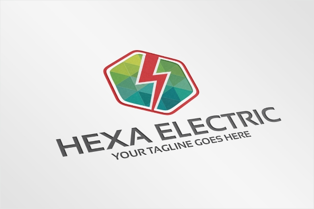 Colorful Power Electrical Logo Design