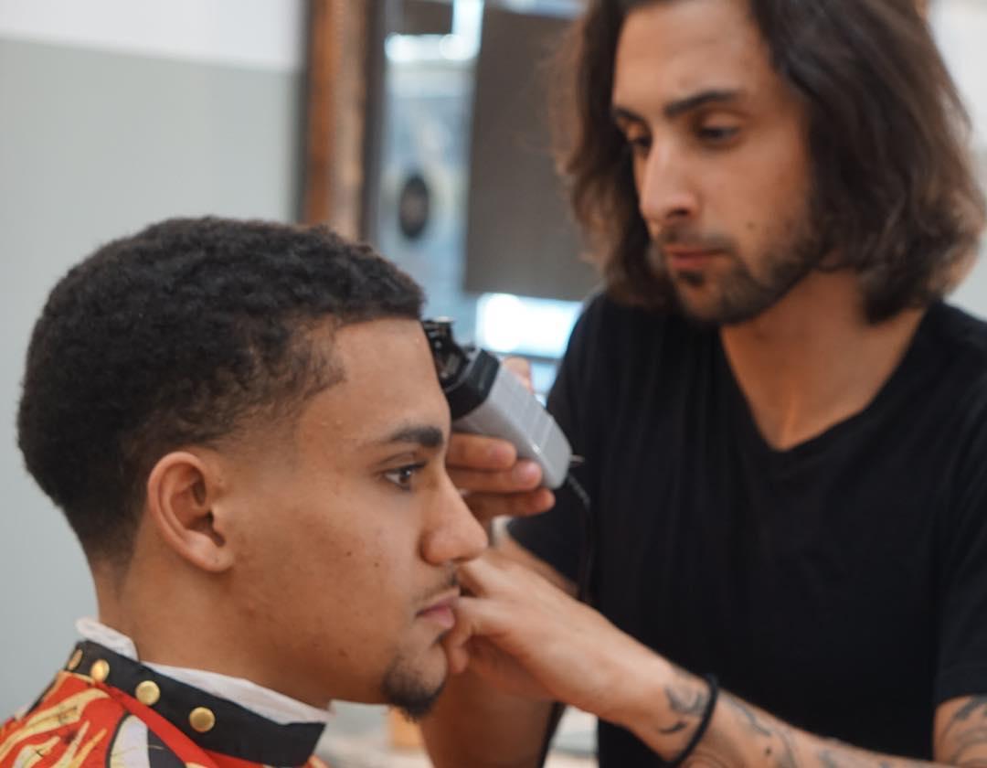 Simple Haircut for Fade Bald Hair