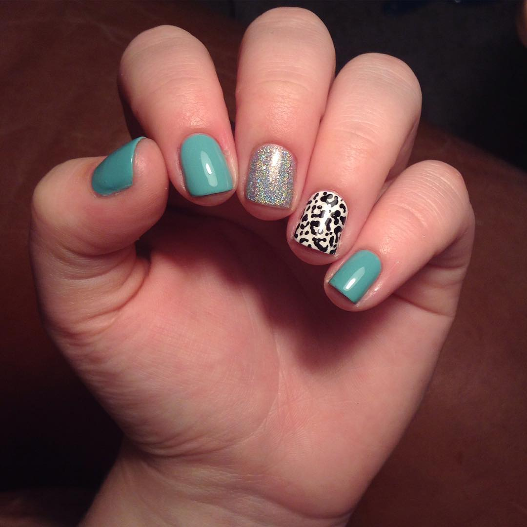 Cheetah Nail Designs For Short Nails - Design and House Design ...