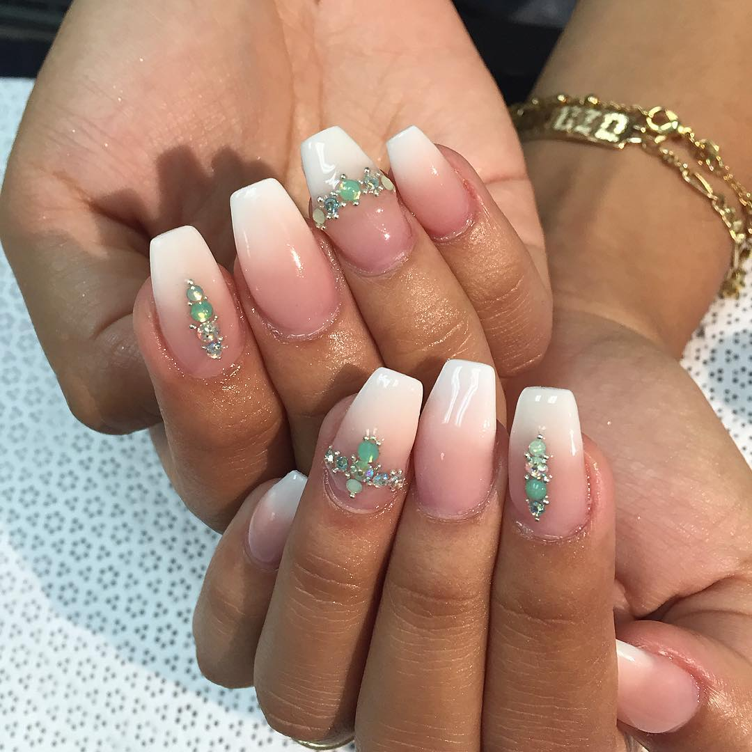 Lovable Nail Design For White Hand