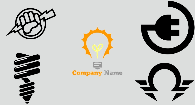 collection of best electrical logo designs