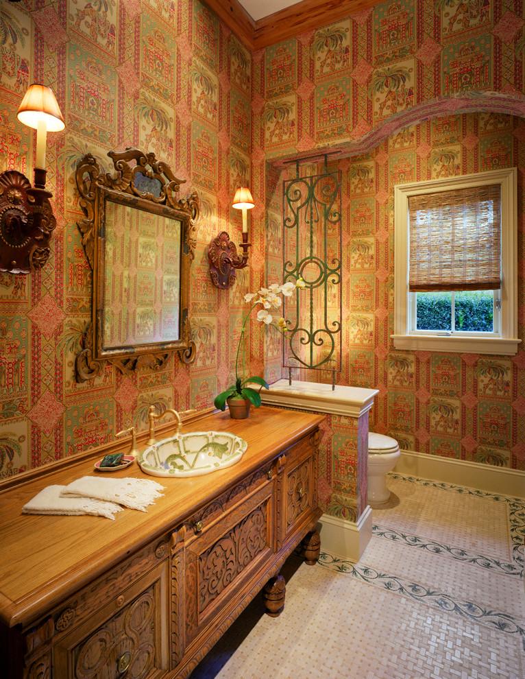 Custom Mediterranean Vanity Mirror Ideas