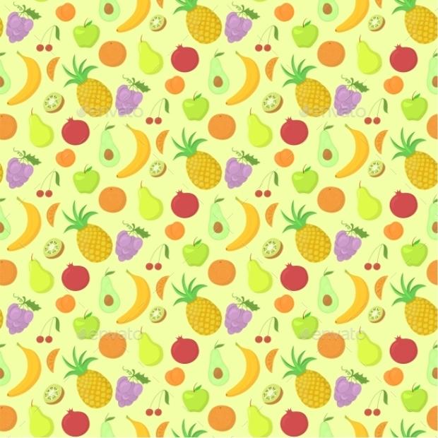 fruit design art pattern