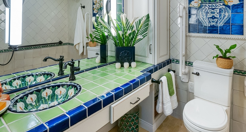 24 Mediterranean Bathroom Ideas: 24+ Mediterranean Bathroom Ideas