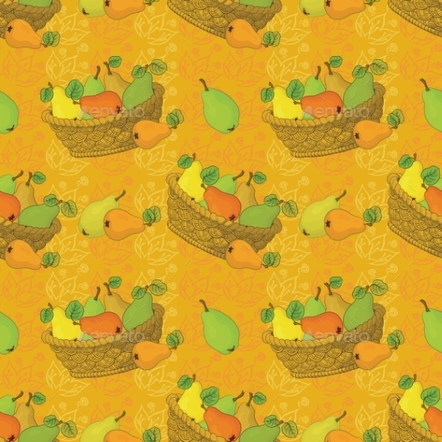 Fruit Pattern for Aggreculture