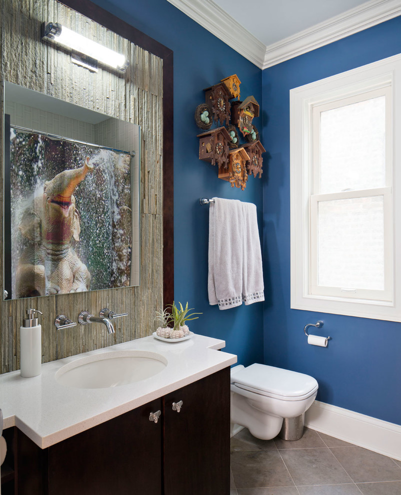 25 cool bathrooms ideas designs design trends for Bathroom wall mural ideas
